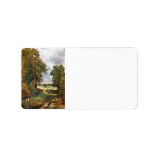 John Constable - el campo de maíz de 1826 Etiqueta De Dirección