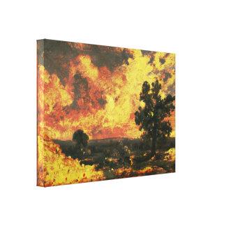 John Constable - English Landscape (Modified) Canvas Print