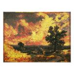 John Constable - English Landscape (Modified) Art Photo