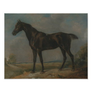 John Constable - Golding Constable's Black Riding Poster