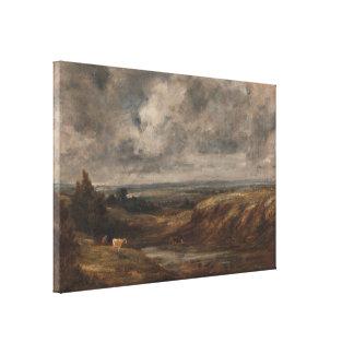 John Constable - Hampstead Heath Canvas Print
