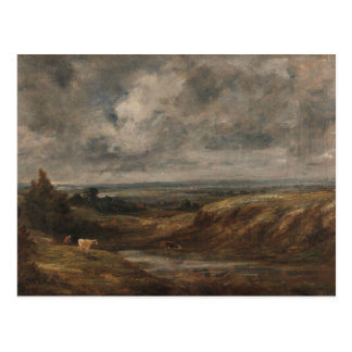 John Constable - Hampstead Heath Postcard