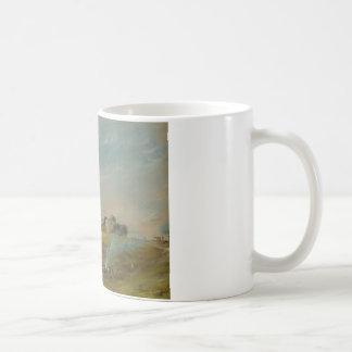 John Constable - Hampstead Heath, with a Bonfire Coffee Mug