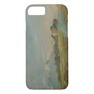 John Constable - Hampstead Heath, with a Bonfire iPhone 8/7 Case