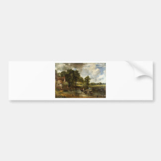 John Constable Hay Wain Bumper Sticker