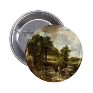 John Constable Hay Wain Pinback Buttons