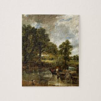 John Constable Hay Wain Jigsaw Puzzle