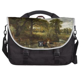 John Constable Hay Wain Laptop Bags