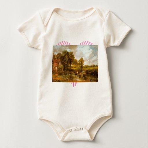 John Constable - heno Wain Traje De Bebé