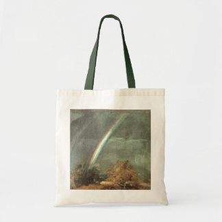John Constable - Landscape with double Rainbow Tote Bag