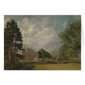 John Constable - Malvern Hall, Warwickshire Card