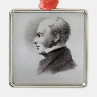 John Constable Metal Ornament