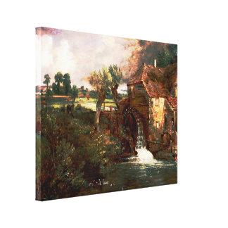 John Constable - molino de Parham (modificado) Impresiones En Lona