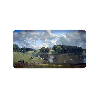 John Constable - parque de Wivenhoe Etiquetas De Dirección