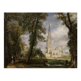 John Constable - Salisbury Cathedral Postcard