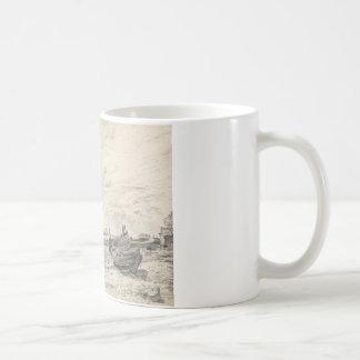 John Constable - Shipping on the Thames Coffee Mug