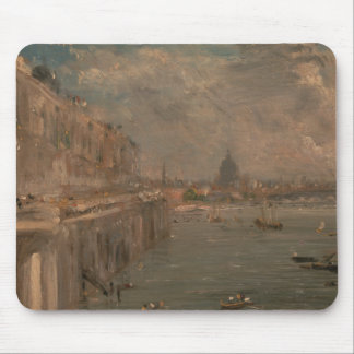 John Constable - Somerset House Terrace from Water Mouse Pad