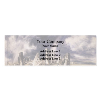 John Constable- Stonehenge Business Card Template