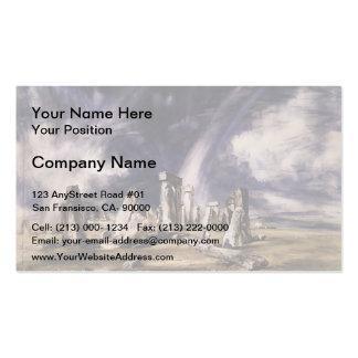 John Constable- Stonehenge Business Card Templates