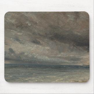 John Constable - Stormy Sea, Brighton Mouse Pad