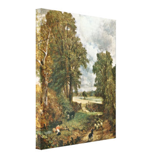 John Constable - The Cornfield Stretched Canvas Prints