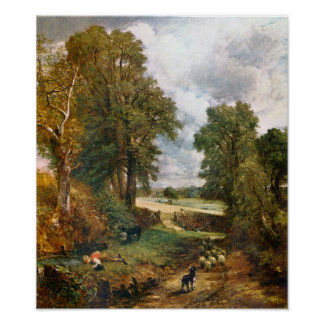 John Constable - The Cornfield of 1826 Print