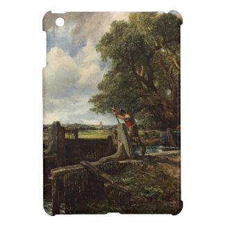 John Constable - The Lock - Countryside Landscape iPad Mini Cover