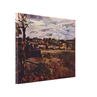 John Constable - View of Highgate Canvas Prints