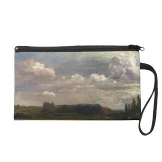 John Constable- View Towards The Rectory Wristlet