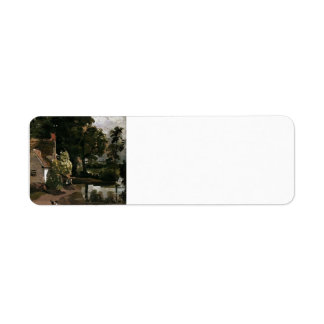 John Constable- Willy Lot's House Return Address Label