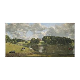 John Constable Wivenhoe Park Essex Gallery Wrap Canvas