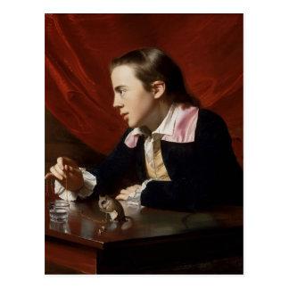 John Copley-  Boy with Squirrel (Henry Pelham) Postcard