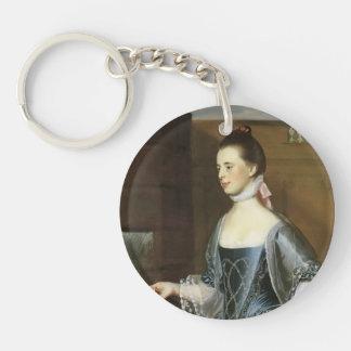 John Copley- Mrs. Daniel Sargent Acrylic Key Chains