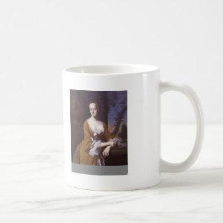 John Copley- Mrs.John Murray (Lucretia Chandler) Classic White Coffee Mug