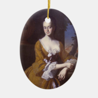John Copley- Mrs John Murray Lucretia Chandler Christmas Ornaments