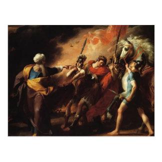 John Copley- Saul Reproved by Samuel Postcards
