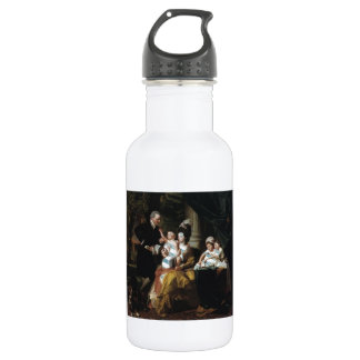 John Copley- Sir William Pepperrell and Family 18oz Water Bottle