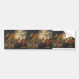 John Copley- The Siege and Relief of Gibraltar Bumper Stickers