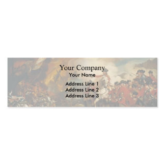 John Copley- The Siege and Relief of Gibraltar Business Card Template
