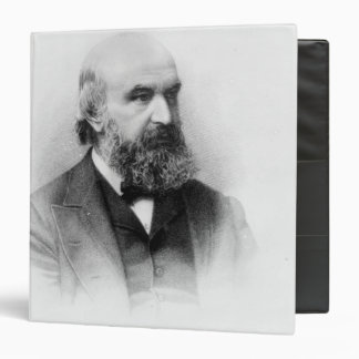 John Couch Adams, engraved by George J. Stodart 3 Ring Binder