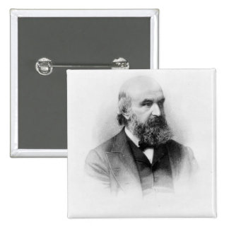 John Couch Adams, engraved by George J. Stodart Pinback Button