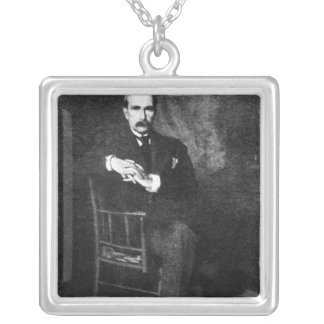 John Davison Rockefeller Silver Plated Necklace