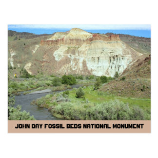 John Day Fossil Beds National Monument Travel Postcard
