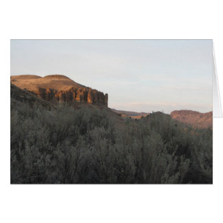 John Day Fossil Beds, Oregon Card