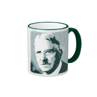 John Dewey Ringer Coffee Mug
