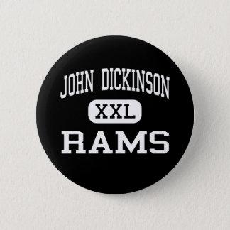 John Dickinson - Rams - High - Wilmington Delaware Pinback Button