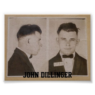 John Dillinger Print