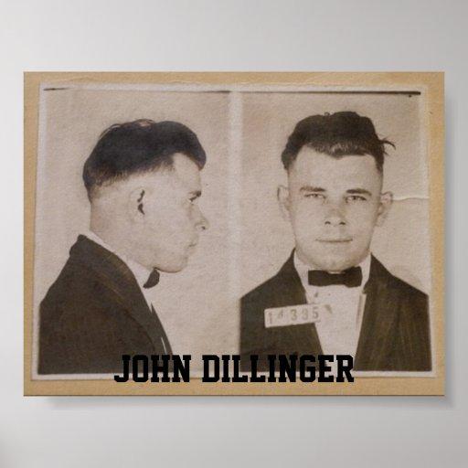 John Dillinger Poster