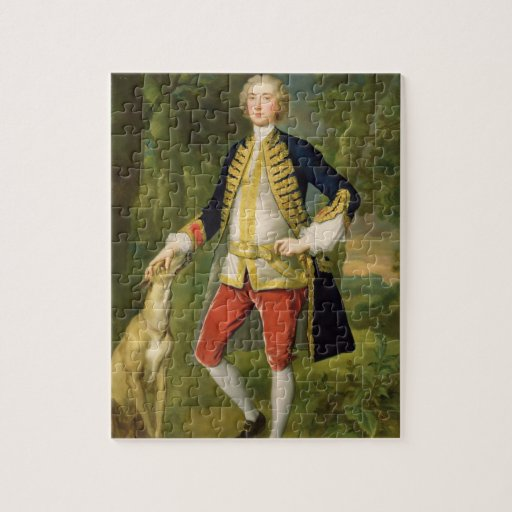 John Dodd, M.P. (oil on canvas) Jigsaw Puzzle