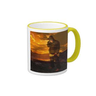 john doe Red sky mug